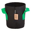 3L Fabric pot black/green ? Ø15x17cm