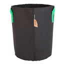 25L Fabric pot black/green ? Ø30x36cm